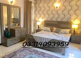 double bed set Fancy Round Style