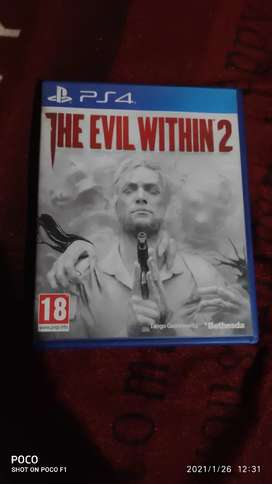 PS4 THE EVIL WITHIN 2 exchange marvel spider man