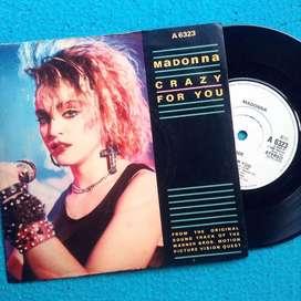 Vinyl Piringan Hitam Madonna - Crazy for You (UK)
