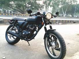 Imported 200cc cafe racer bran new  better than hi Speed Infinity