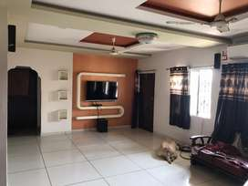 combination of two 1 bhk flat with Giant hall and totally renovated