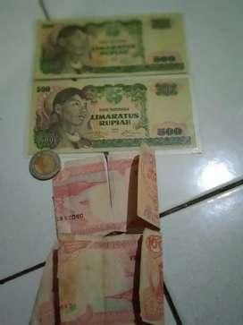 uang jadul 500 rupiah.1968