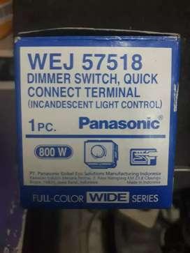Dimmer panasonic cocok untuk lampu pijar ,atau mesin gerinda dll.