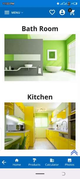 Over all home decorate paint, wallpaper
