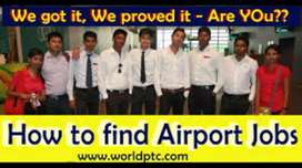 Urgent hiring security guard for airport