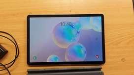 Jual Samsung Tab S6 Mulus + Keyboard