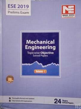 Made easy IES & GATE mechanical books.