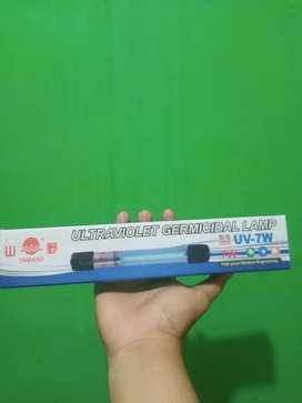 Lampu UV Yamano 7 , 9 , 11 Watt Pembunuh Alga, Bakteri, Penjernih Air