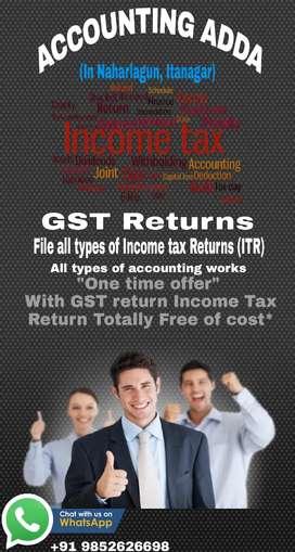 GST / Income tax Returns