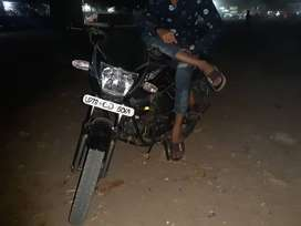 Without self start engine bike
