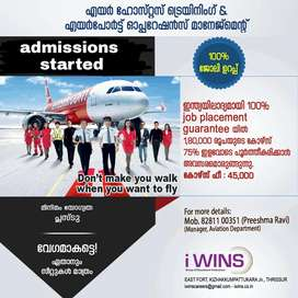 Airhostess and airport operation management