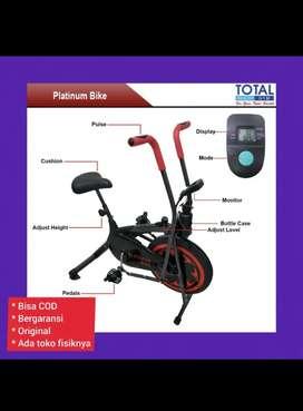 Alat fitnes sepeda statis platinum bike sepeda olahraga
