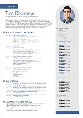 Make attractive and latest resume from us