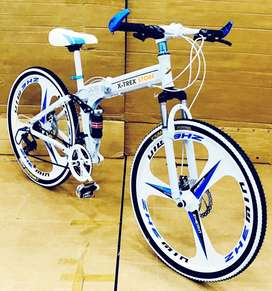 X-Trex BM Foldable Cycle with 21 Speed Gears: Hybrid Cycle 26T (Rajkot