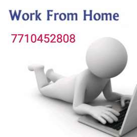 Computer operator/data entry operator/work from home/part time jobs