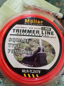 mollar senar potong rumput grass trimmer line mollar 79m