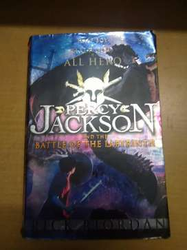 Percy Jackson and the battle of the Labyrinth- Rick Riordan