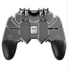 AK66 Mobile Game Controller Six Finger All-in-one Joystick Gamepad for