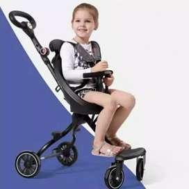Magic stroller traveling