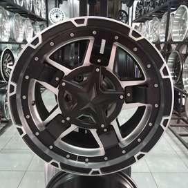 Velg mobil R17 Pajero Fortuner Hilux Strada Triton cicilan ringan 0%