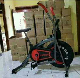 New Sepeda Fitnes lengan gerak Platinum bike//SOLO FITNESS CENTER