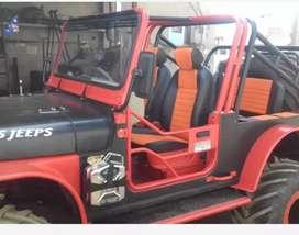 Modified Sports open jeep turbo di
