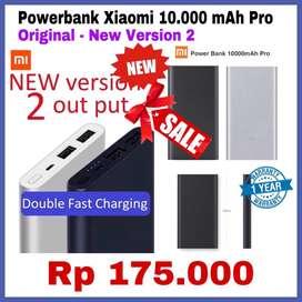 Powerbank Xiaomi 10.000 V.2 Original Mantap