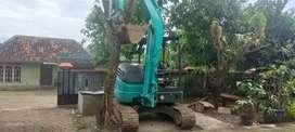 Excavator mini sk50 kobelco 2017