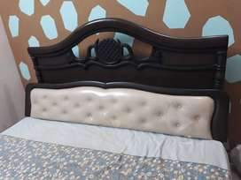 King Size Cot with Storage under headboard only 1 year old