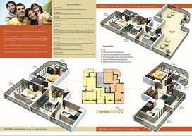 2 bhk apartment new construction in heart of dabolim  city