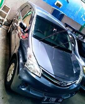 Daihatsu Xenia X mt 2012 silver stone mulus