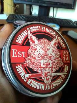 Cek profil kami (Grosir ecer) Pomade Maddock Animal Red (Oil Based)