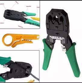 Crimping tool, Punture, for net cables