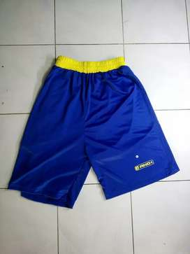 Celana Basket And1 Biru Kuning size M