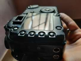 Canon 30D with 18 55 lens