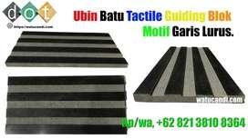 Difable Ubin Guiding Block Garis Lurus Line Batu Alam Harga Murah.