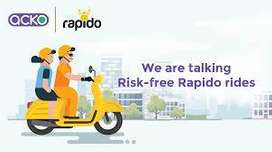 immediate looking delivery boys for rapido