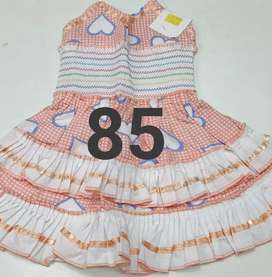 Low range girl baby dresses starting from 85 rs