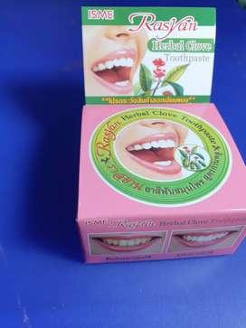Pemutih Gigi Rasyan Herbal Clove made in Thailand