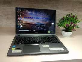 Laptop acer v5-573 core i5 nvidia touchscreen