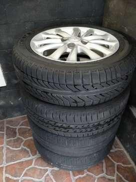 Velg R15 PCD 100 Ori Toyota Etios Yaris Jazz Calya Sigra Agya Ayla