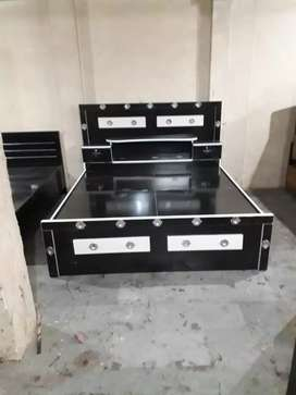 Shri balaji furniture  6x6 double bed just rs 8500