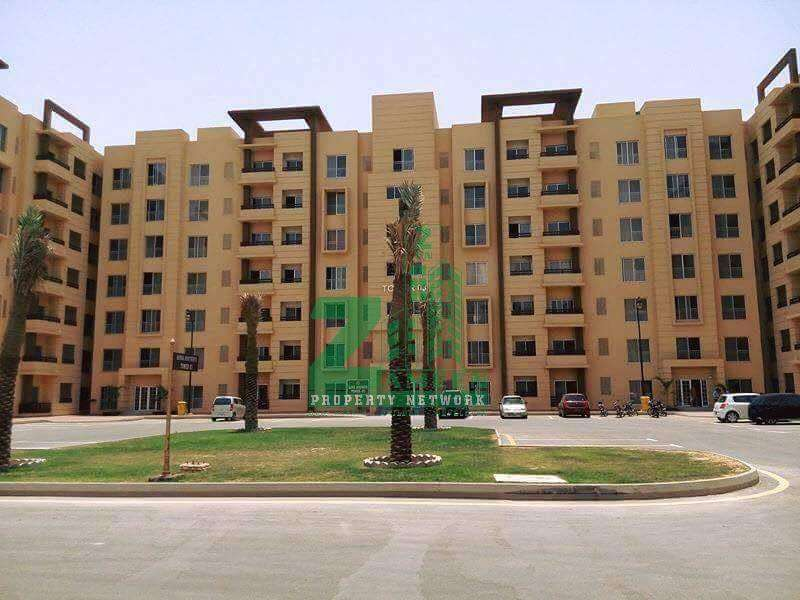 Sale , 2 Bed Amazingly Constructed Apartments in Bahria Town Karachi 0