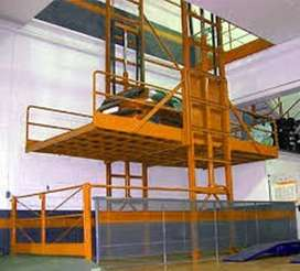 Cargo, Freight, Industrial, Lifts Elevators for handle materials