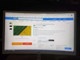 Acer curved screen monitor less than one month old