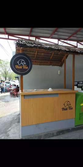 Jaga booth thai tea