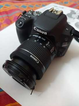 CANON EOS 200D DSLR Camera, 2yrs old