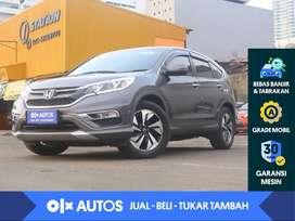 [OLXAutos] Honda CRV 2.4 Prestige A/T 2016 Abu - Abu