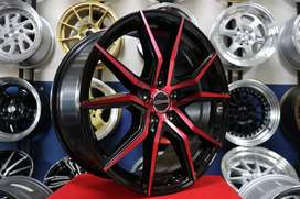 promo gratis kirim velg racing civic camry accord ring 18