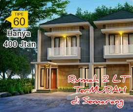 Rumah 2 LT Harga TerMURAH di Tengah Kota Semarang Pedurungan